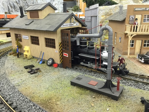 Spur G Scale White Pass Yukon Route Depot Engine House Skagway