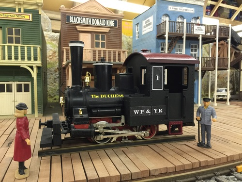 Spur G Scale White Pass Yukon Route Depot Engine House Skagway The Duchess