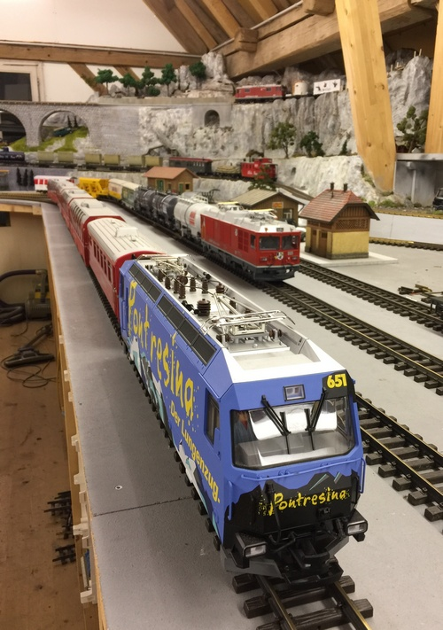 LGB RhB Ge Indoor Layout