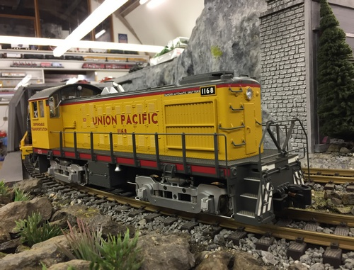 USA Trains S4 Switcher UP G-Scale
