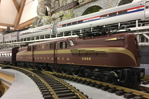 USA Trains GG1 Aristocraft E8 PRR G scale