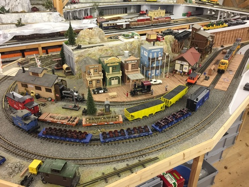 G Scale indoor layout