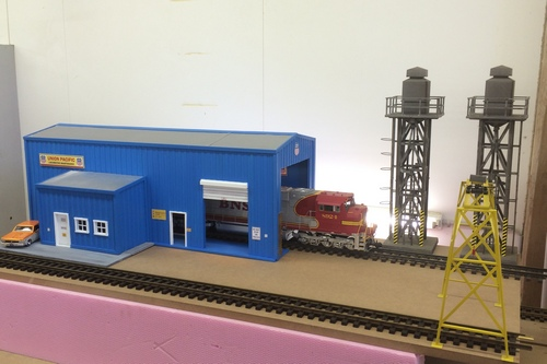 UP, Locomotive maintenance, LGB, G-Scale, Depot, SD45, SD70, SPur G, Aristocraft, USA Trains
